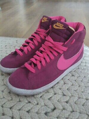 £12 • Buy Ladies Nike Blazer High Top Trainers Suede Leather Size 5