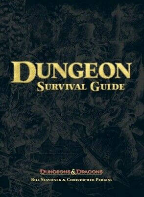 AU46 • Buy Dungeon Survival Guide (Dungeon & Dragons D20 3.5 Fantasy Roleplaying)