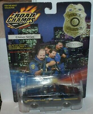 £15.57 • Buy New York State Police Patrol Trooper Road Champs 2002 Ford Crown Victoria 1:43