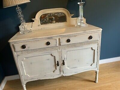 £40 • Buy Upcycled Shabby Chic Painted French Sideboard Cabinet