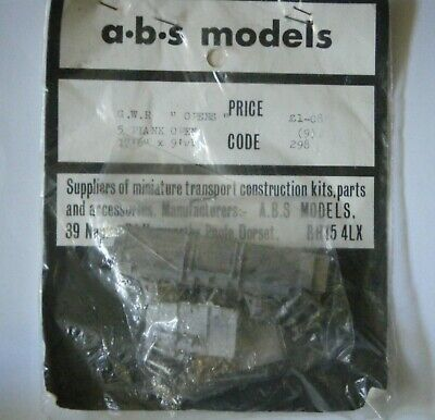 """£15 • Buy ABS OO EM 4mm GWR 17'6"""" O24 12T 5 Plank Open White Metal Wagon Kit"""