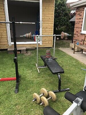 £200 • Buy Weights Bench And Weights