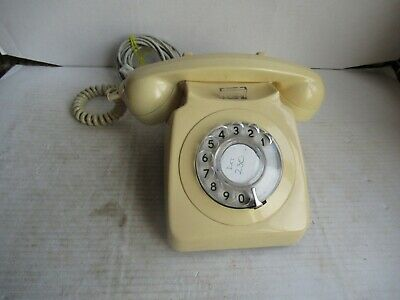 £14.99 • Buy VINTAGE, ROTARY DIAL TELEPHONE, 746F. WORKING. G.P.O. C1970'S.