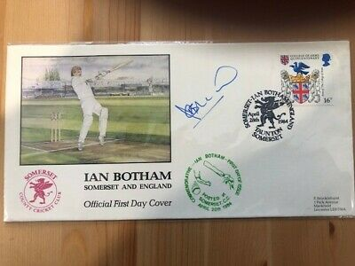 £26.72 • Buy Ian Botham 1984 Signed Cover - Limited Edition Nº675