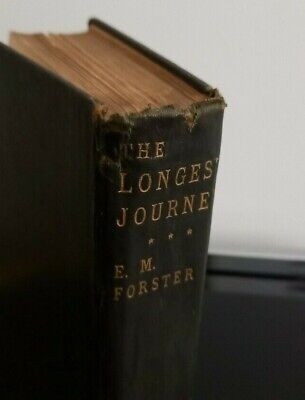 £120 • Buy The Longest Journey, E M Forster, William Blackwood, 1907, First Edition