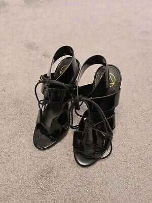 £6 • Buy Missguided Black Shoes Size 3