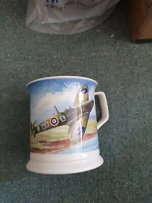 £2.80 • Buy Large China SPITFIRE Mug By Past Times Collection By Queens