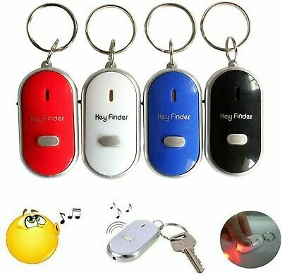 £2.39 • Buy Anti Lost Whistle Key Finder Remote Chain LED Torch Flashing Beeping Locator UK