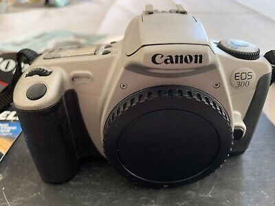 £40 • Buy Canon Eos 300 Film Camera With 2 Ultrasonic Lenses 35-80mm And 28-80mm