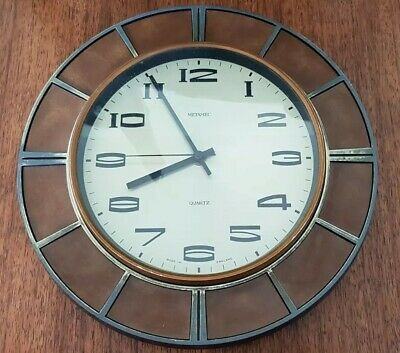£20 • Buy Metamec Vintage Wall Clock Not Working,  Easy Fix For Some One