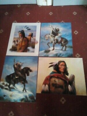 £6.99 • Buy 4 Native American Laminated Posters