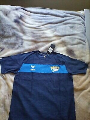 £20 • Buy Leeds Rhinos Oxen Mens Training T Shirt Tee 7 Size Extra Large Brand New Tags