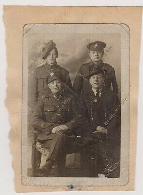 £15.99 • Buy WW1 Photo Soldiers, Machine Gun Corps, Light Infantry, Scots Regiment -brothers?