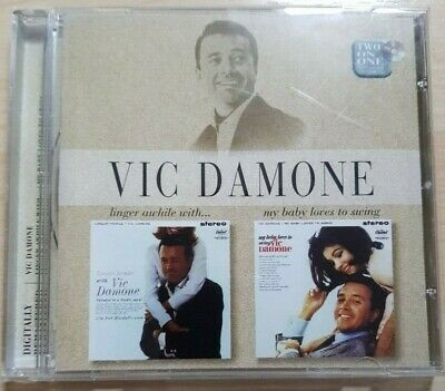 £4.99 • Buy Vic Damone - Linger Awhile With / My Baby Loves To Swing CD