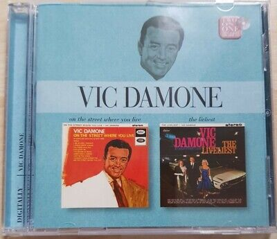 £4.99 • Buy Vic Damone - On The Street Where You Live / The Liveliest CD