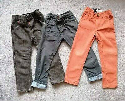 £5 • Buy Boys Trousers 5 Years Next - Navy, Jeans, Rust Colour