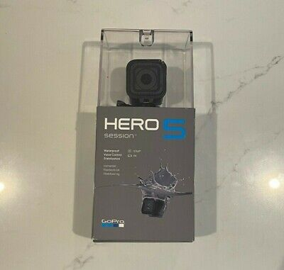 AU217.74 • Buy GoPro HERO5 Session 4K Action Camera With Accessories (Great)