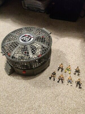 £20 • Buy Wwe Elimination Chamber Ring And Mini Figures