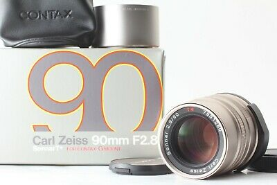 $ CDN317.67 • Buy [Mint In Box] CONTAX Carl Zeiss Sonnar T 90mm F2.8 Lens For G1 G2 From JAPAN