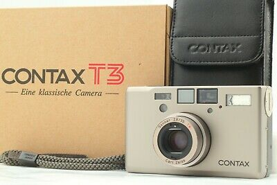 $ CDN2429.09 • Buy [Mint In Box] CONTAX T3 35mm Point And Shoot Film Camera Case Strap From JAPAN