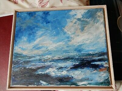 £35 • Buy Oil On Board, Sea Scape, Not Signed