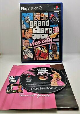 £7.99 • Buy Grand Theft Auto: Vice City Video Game For Sony PlayStation 2 PS2 PAL TESTED