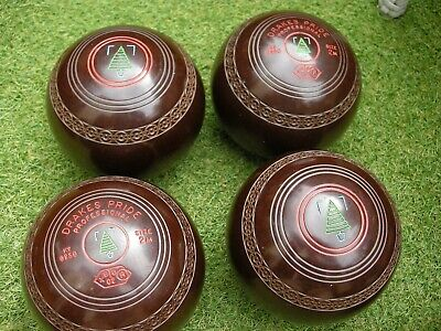 £70 • Buy Drakes Pride Professional Bowls Size 2m Brown Speckle