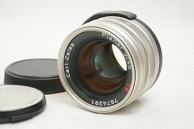 $ CDN534.39 • Buy [MINT]]Contax Carl Zeiss Planar T* 45mm F/2 AF Lens For G1 G2 From Japan