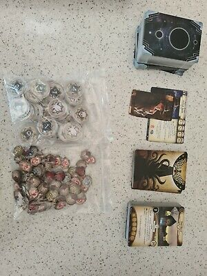 £11.90 • Buy Arkham Horror: The Card Game (LCG) (Complete, With Coin Protectors)