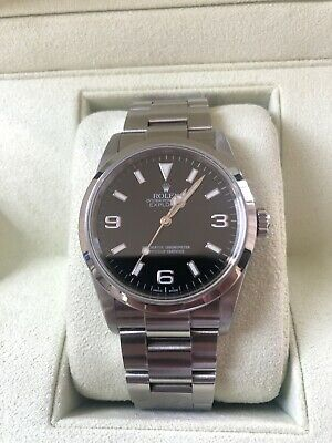 $ CDN11034.32 • Buy Rolex Explorer1 114270 D Number Automatic Box And Papers