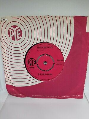£4.49 • Buy The Honeycombs – Have I The Right Vinyl 7  Pye Single 7N 15664 1964