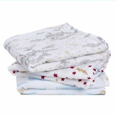 £23.95 • Buy Aden + Anais Cotton Muslin Squares Harry Potter™ Iconic- 3 Pack