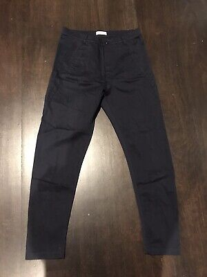 AU70 • Buy Scanlan Theodore Navy Pants Size 8 Tapered Relaxed Fit