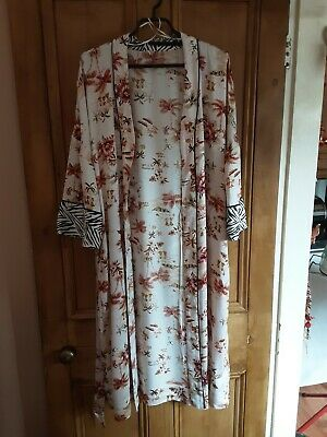 AU5.53 • Buy Marks & Spencer Dressing Gown/ Robe. Cool & Very Pretty. Uk 8/10. Great Used...