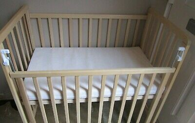 £40 • Buy Saplings Space Saver Cot With Drop Side.