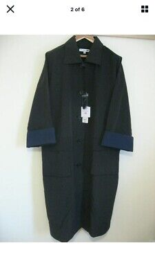 £34.99 • Buy JW ANDERSON X UNIQLO BNWT Long Black Oversize Belted Trench Coat XL
