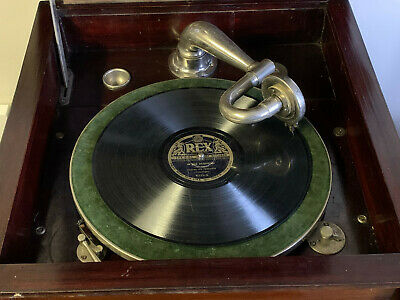 £75 • Buy Wind Up 78 Rpm Gramophone Record Player - Floor Standing