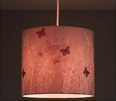 £9.99 • Buy Easy Fit Butterfly Lamp Shade Table Lamp And Ceiling Pendant Girl Kids Children