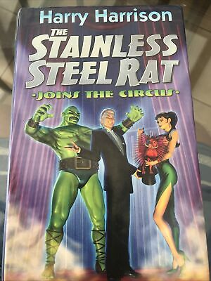 £15 • Buy Harry Harrison- THE STAINLESS STEEL RAT : JOINS THE CIRCUS -Hardback 1999 1st Ed