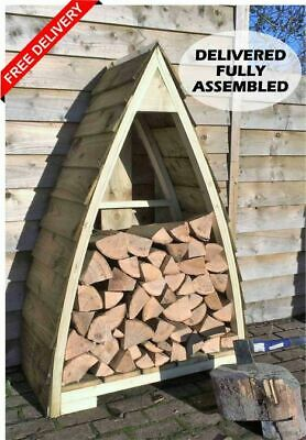 £129 • Buy Arched/Boat-Shaped Wood/Log /Store