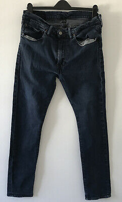 £9.99 • Buy Levis 519 Extreme Skinny Highball Jeans 36/32 Dark Blue. Used VGC
