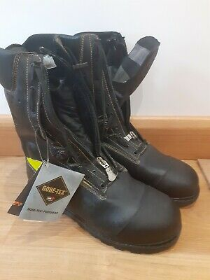 £64.99 • Buy Jolly Fire Chainsaw Safety Boots Goretex Fireboots Waterproof Size 12 /47 Zip Up