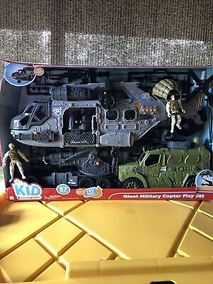 $25 • Buy Kid Connection Gian Military Copter Play Set
