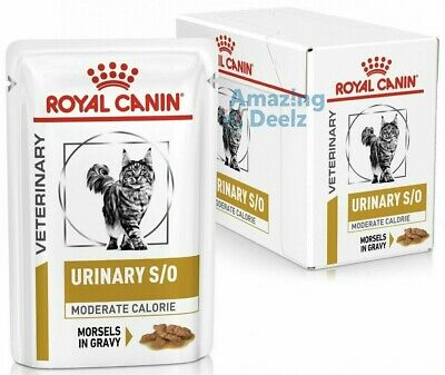 £16.99 • Buy Royal Canin Urinary S/O Moderate Calorie 12x85g Pouches For Cat Morsels In Gravy