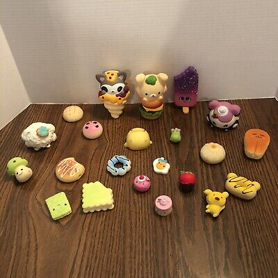 AU37.35 • Buy Used Squishy Squishie Lot Of 22 Branded Unbranded