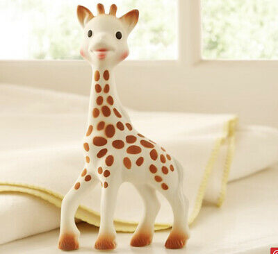 £10.64 • Buy Sophie The Giraffe  Baby Soft Teether Rubber Soft Squeaky Toy