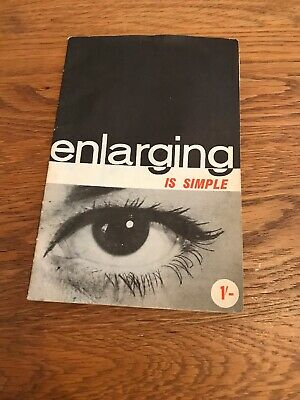 £3 • Buy Vintage Gnome Photographic Products Enlarging Is Simple Booklet