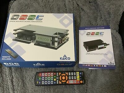 £120 • Buy Kaico OSSC Open Source Scan Converter 1.6 With SCART, Component And VGA To HDMI