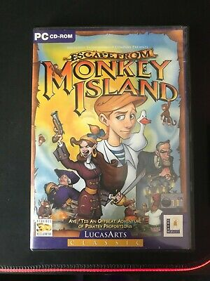 £0.99 • Buy Excape From Monkey Island Pc Cd Rom