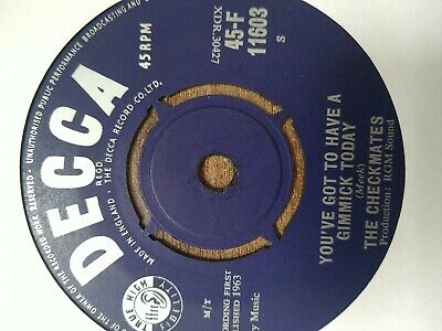 £2 • Buy The Checkmates *west Point * Decca Ex Jo Meek Rgm